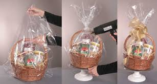where to buy gift basket wrap how to wrap gift baskets e bit me