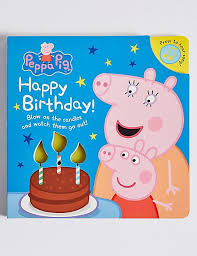 peppa pig birthday peppa pig happy birthday m s