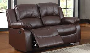 Brown Leather Recliner Sofa Leather Reclining Sofa And Loveseat Sets Sofafurniture Info