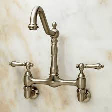 wall mounted kitchen faucets commercial wall mount kitchen faucets kitchen bath ideas