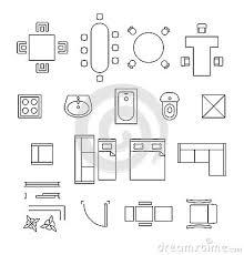 furniture clipart for floor plans design home design ideas
