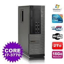 pc de bureau i7 ordinateur de bureau i7 3770 prix pas cher cdiscount