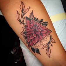 Leopard Print Flower Tattoos - best 25 dahlia tattoo ideas on pinterest dahlia flower tattoos