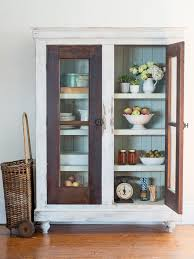 upcycle reclaimed doors into a custom storage cabinet hgtv