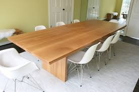 White And Oak Dining Table White Oak Dining Table Made Modern Designs For Modern Ideals