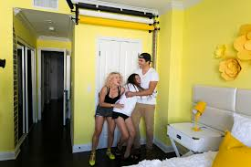 adelaine morin u0027s hello yellow bedroom makeover mr kate bloglovin u0027