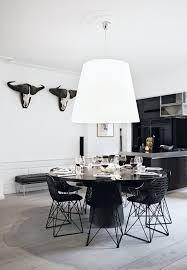 Best  Black Dining Tables Ideas On Pinterest Black Dining - Black and white dining table with chairs