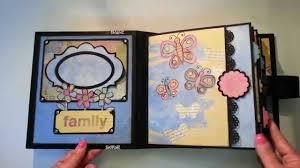 small scrapbook album collage mini album