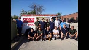 garage door repair aurora il aladdin garage doors houston company introduction youtube