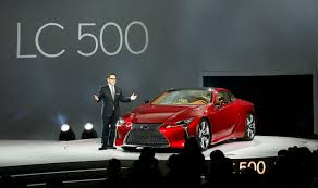 lexus lc500 reveal lexus lc500 looks stunning in the flesh