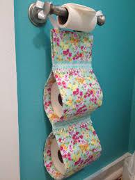 diy toilet paper holder home bathroom pinterest diy and