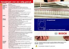 handleiding bosch wtv74100nl maxx 6 pagina 1 van 8 nederlands