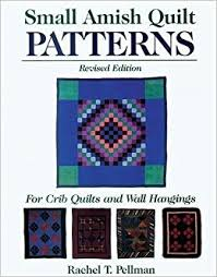 small amish quilt patterns for crib quilts and wall hangings