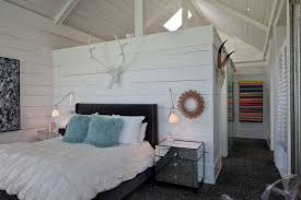 closet behind bed good looking mirrored bedside table in bedroom farmhouse with wall