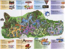 Whidbey Island Map Paramount U0027s Kings Island 2006 Map Maps Local Pinterest