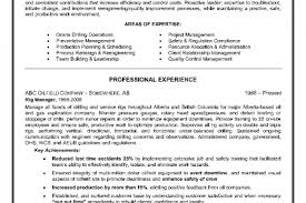 Driller Resume Example by Resume For Oil Field Worker Reentrycorps