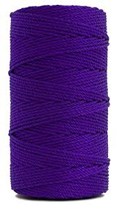 rosary twine rosary twine twisted size 36 purple 1 lb 1