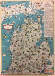 Map Of Southern Michigan by Pi E Day In The Map Division The New York Public Library