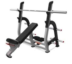 Incline Bench Press Grip Star Trac Olympic Incline Bench Press