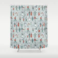 Vintage Shower Curtain People And Vintage Shower Curtains Society6