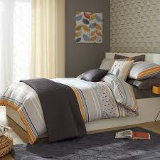 iliv fjord tangerine printed duvet cover sets multi duvet covers now with 50 off single sizes only 13