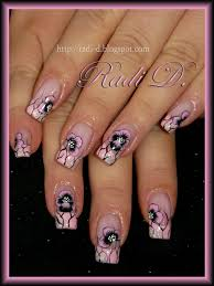 elegant one stroke floral nail art lucys stash one stroke flower
