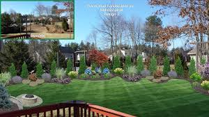 Backyard Landscape Designs MADecorative Landscapes Inc - Backyard landscaping design