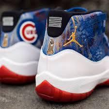 chicago cubs world series air by dejesus custom footwear