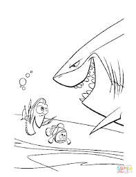 shark tale coloring pages print pictures hammerhead tiger
