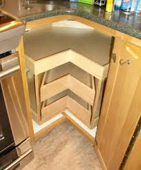 decor inspiring design of blind corner cabinet for kitchen