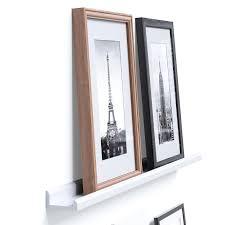 amazon com wallniture contemporary floating wall shelf ledge for
