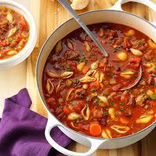 Italian Soup by Hearty Pasta Fajioli Recipe Taste Of Home