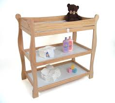 Changing Table Safety Sleigh Style Changing Table Ojcommerce