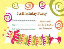 birthday card beautiful birthday card invitation template