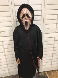 find more halloween costume bleeding scream face with robe sz