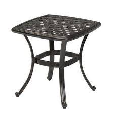 metal patio side table inspiration idea metal patio side table