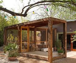 outdoor screen room ideas simple construction on the owner builder network http