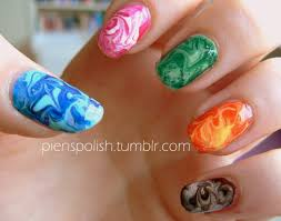 marble nail designs without water gel nails filing