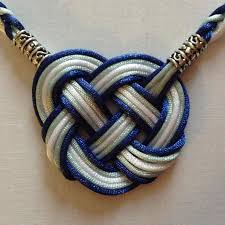 wedding handfasting cord premium celtic heart all satin handfasting cord 5 satin cords