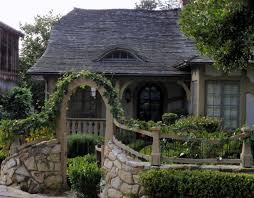 typically tudor or english cottage style homes have a combination