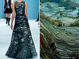 design inspiration nature fashion inspired by nature russian artist compares famous dresses