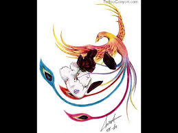 rebirth phoenix tattoo design real photo pictures images and