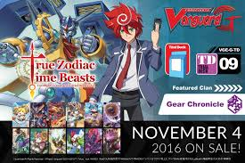 cardfight vanguard cardfight vanguard g trial deck vol 9 true zodiac time beasts