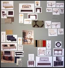 Interior Design Material Board by Tina Doherty Interior Designer Architectural Photographer