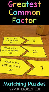 Finding Gcf And Lcm Worksheets 57 Best Gcf And Lcm Images On Pinterest Math Activities