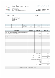 blank invoice excel invoice template ideas