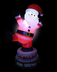 outdoor plastic lighted santa claus furniture lighted animated christmas inflatable santa claus
