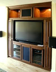 Kitchen Cabinet Entertainment Center Built In Entertainment Center Cabinet Built In Media Center