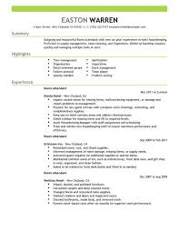 Hotel Front Desk Resume Sample by Housekeeper Resume Hotel Housekeeper Resume Best Housekeeper