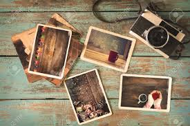 vintage photo album merry christmas photo album on wood table paper photo